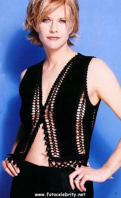 В бикини Мег Райан (Meg Ryan) .