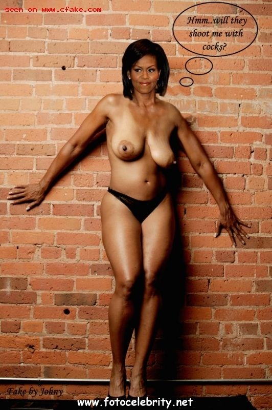 Michelle obama playboy nude pics — 12