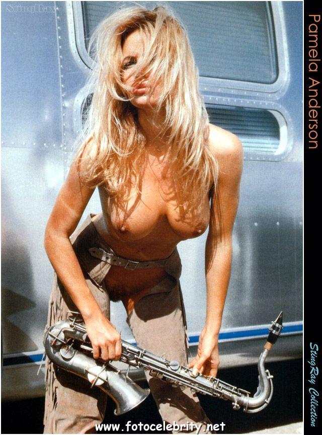 Голая Памела Андерсон (Pamela Anderson). Эротические фотки.