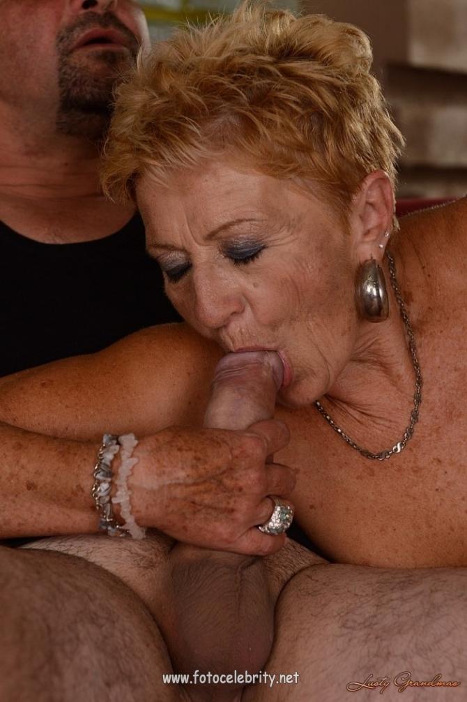секс с старой шалавой