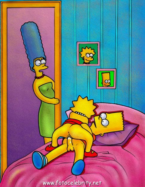 Bart_Simpson, Hardtoon, Lisa_Simpson, Marge_Simpson, The_Simpsons.