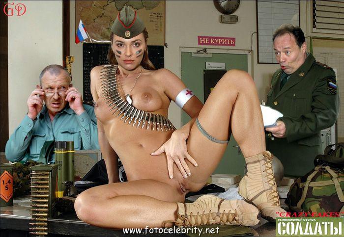 военные голые порно
