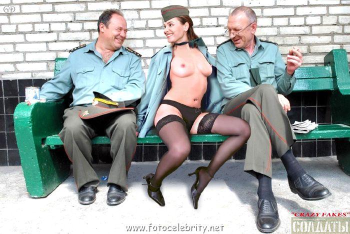 порно фото героев сериала солдаты