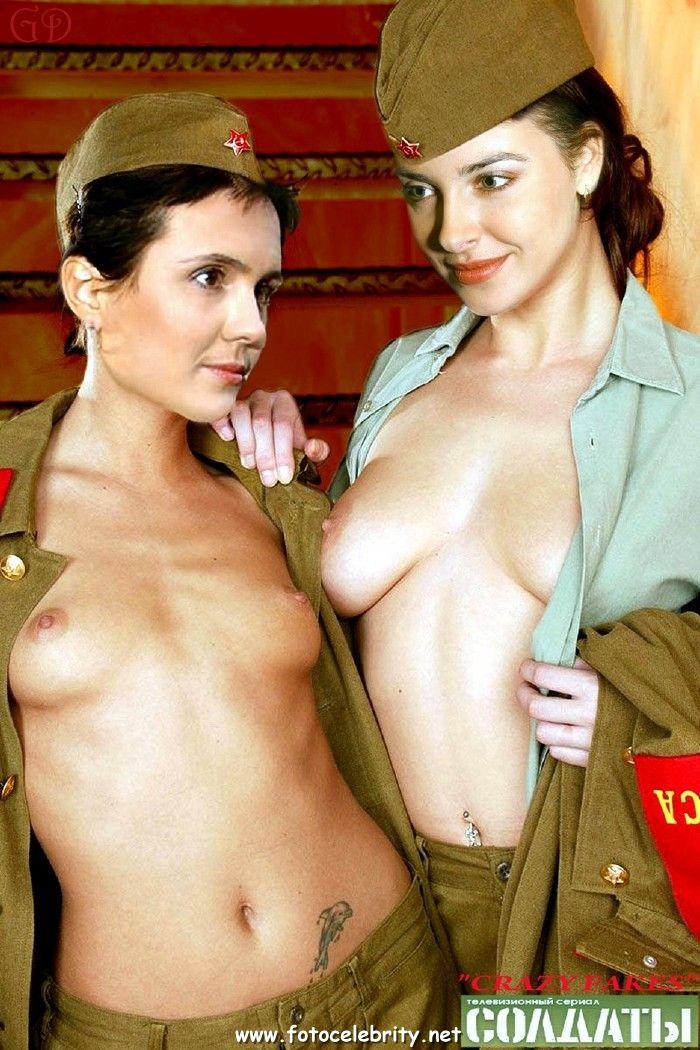 Порно фото голых солдат